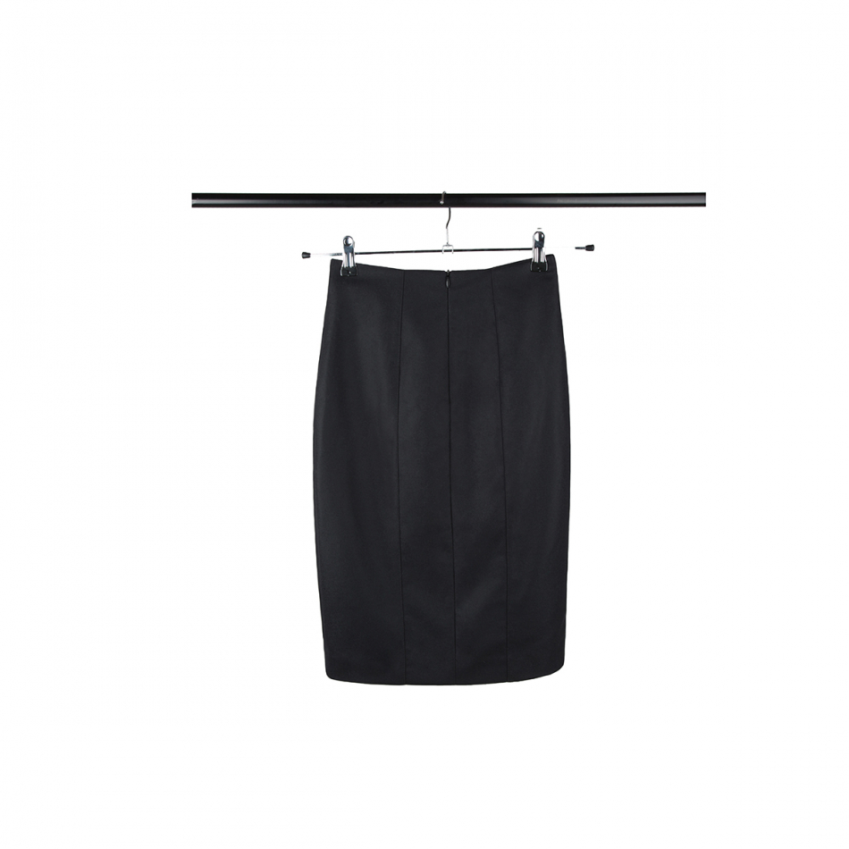 High waist business skirt EMMA black