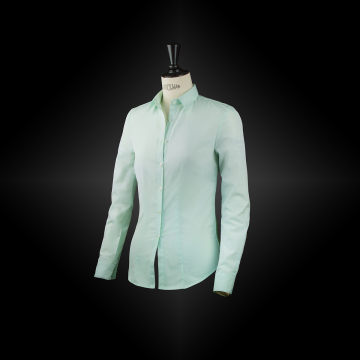 Pastel green workwear shirt NAËLLE
