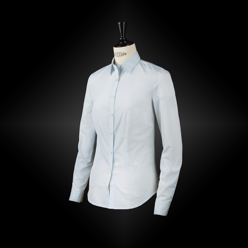 Light blue workwear shirt NAËLLE