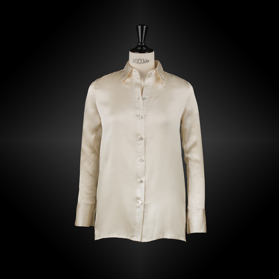 Beige workwear shirt SACHA